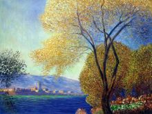 Antibes, View of Salis