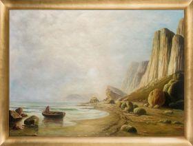 Coast of Labrador 1866  Pre-Framed