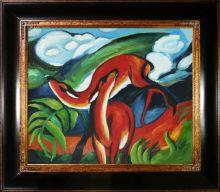The Red Deer Pre-Framed