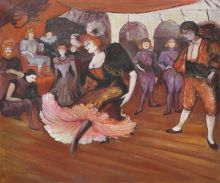 Marcelle Lender Dancing in the Bolero in Chilperic, 1895