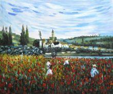 Poppy Field near Vetheuil