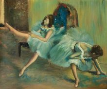 Before the Ballet (detail)
