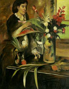 Portrait of Mme. Rene De Gas, born Estelle Musson