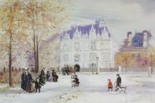 The Fletcher Mansion, New York City