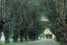 Avenue in Schloss Kammer Park