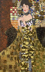 Portrait of Adele Bloch Bauer I (Luxury Line)
