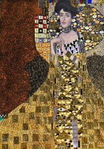 Portrait of Adele Bloch-Bauer I, 1907 (Luxury Line)