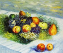Pears and Grapes