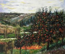 Apple Trees in Bloom at Vetheuil 1887