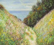 Path at La Cavee, Pourville