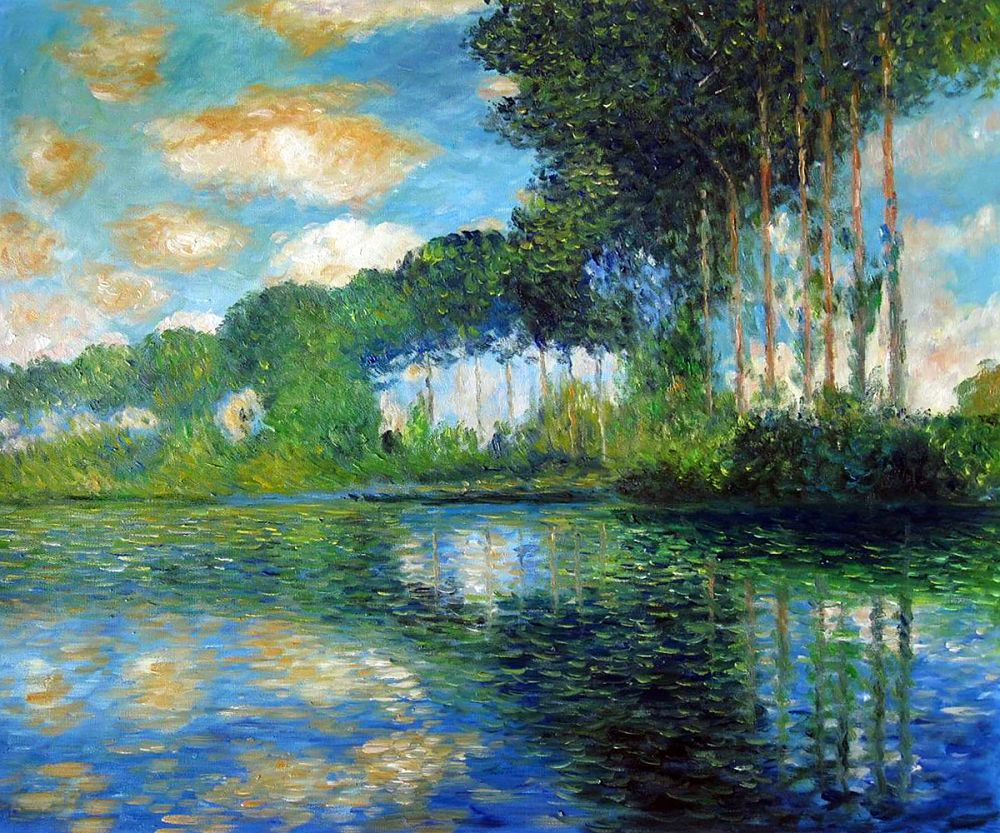 Poplars on the Banks of the Epte