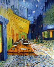 Cafe Terrace at Night (Original Size)