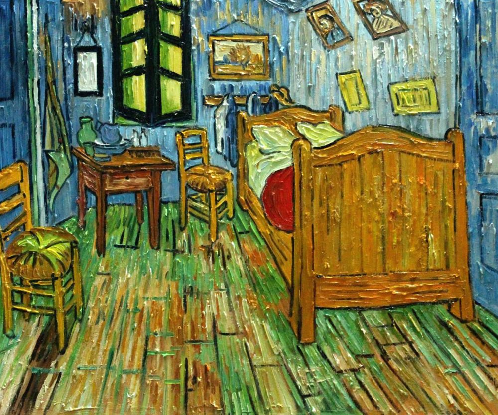 Van Gogh - Bedroom at Arles Painting Reproduction for Sale