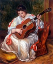 Woman Playing the Guitar, 1896
