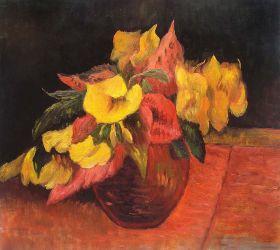 Evening Primroses in the Vase, 1885