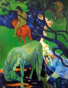 El Caballo Blanco (The White Horse), 1898