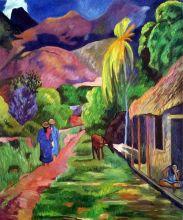 Road in Tahiti, 1891
