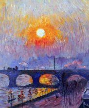 Sunset over Waterloo Bridge, 1916