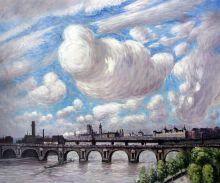 Waterloo Bridge in the Sun, 1916