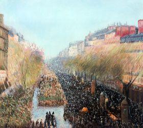 Boulevard Montmartre, Mardi Gras