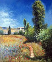 Landscape on the Ile Saint-Martin, 1881