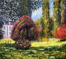Il Parco Monceau, 1876