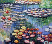 Water Lilies (pink)