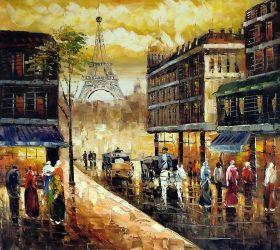 Evening's Delight In Paris