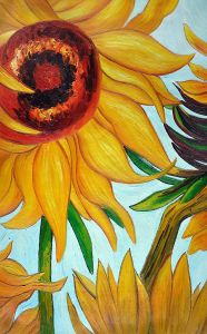 Sunflowers (detail)