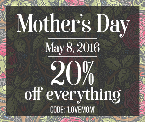 Mother's Day is Coming - Save 20% off Everything!