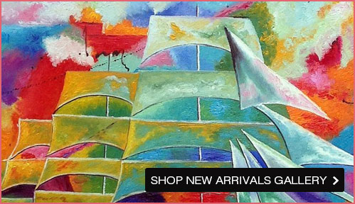 New Art is Popping Up! Shop the New Arrivals Art Gallery